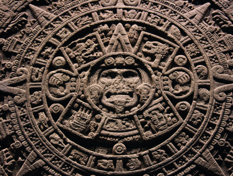 "Mexikos uralte Kulturen sind im Museo Nacional de Anthropologia zu sehen. Hier der ""stone of the sun"". Foto: Stefan Franke"